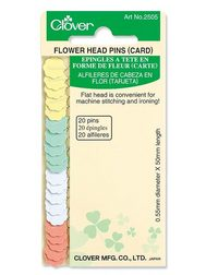 Flower Head Pins (20 Pc) (Carded)