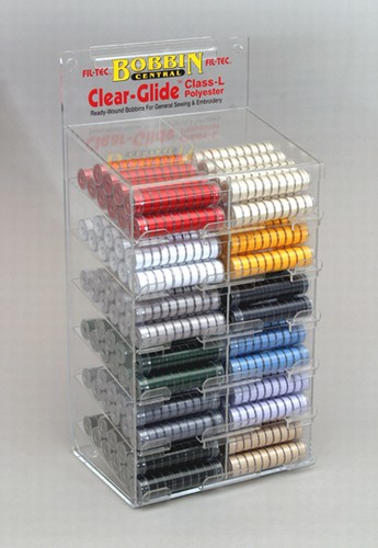 Clear-Glide (Class L) Bobbins Complete Color Selection - Display Unit