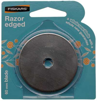 Fiskars Rotary Straight Blade, 60mm