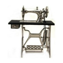 Mini Silver Sewing Machine