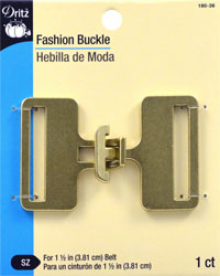 Fashion Buckle for 1-1/2