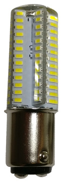 2PCW LED BA15 replacement light bulb